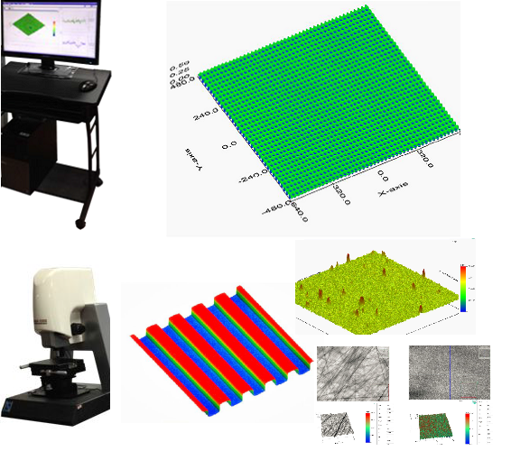 NanoX-2000 3D surface morphology and surface structure detection device Software