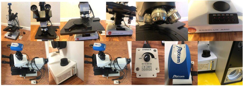 Leitz Ergolux AMC Microscope 2