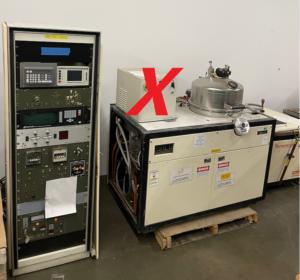 Temescal FC-1800 Load Locked E-Beam Evaporator