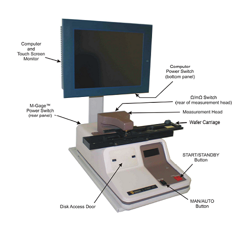 Tencor M-gage 200 Sheet Resistance Measurement System