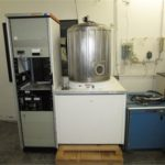 Varian 3120 Electron Beam Evaporator with Bell Jar, Model 980-2461-B, Serial Number 76848-4/4, With Airco Temescal Power Supply, (1) Airco Tenscal Controller CV-8