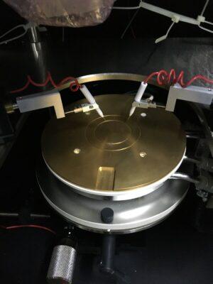 Japan SANWA LC361C Wafer Probe With MU-6 Olympus Microscope SZ40 SZ CHI , 5000V