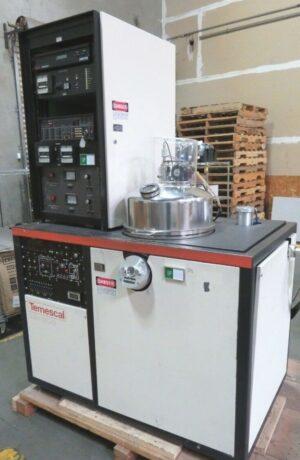 Temescal BJD-1800 E-Beam Vacuum Deposition Evaporator
